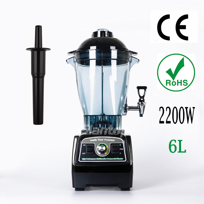Glantop 6L 2800W Heavy Duty Professional Commercial Home Blender Mixer 3.3HP 57000RPM Food Mixer Jucier GLTHSG0572