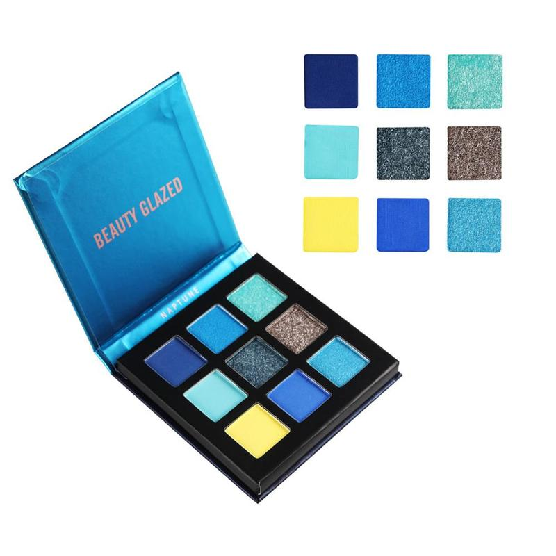 Eye Shadow Beauty Glazed 9 Colors Natural Matte Eye Shadow Palette Waterproof Nude Makeup Beauty Make Up Cosmetics Paleta De Sombra Tslm2