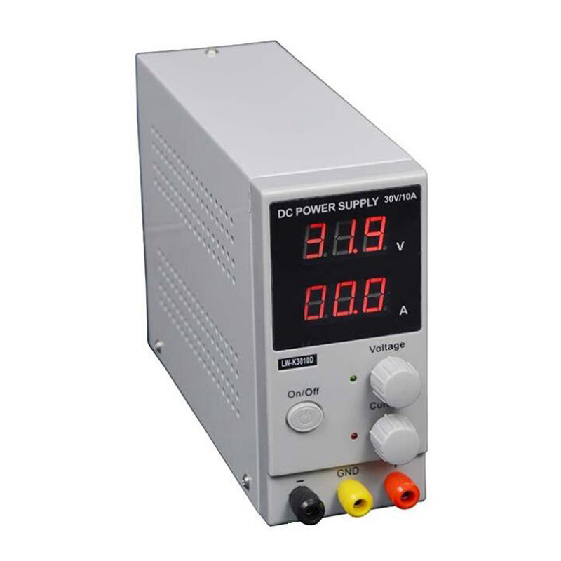 30v 10a K3010D Mini Switching Regulated Adjustable DC Power Supply SMPS Single Channel
