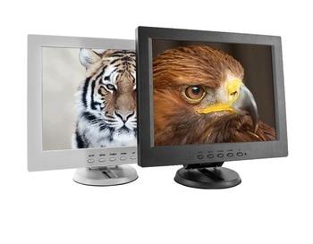 12 inch touch screen highlight POS Cashier monitor with AV/BNC/VGA/HDMI/USB interface
