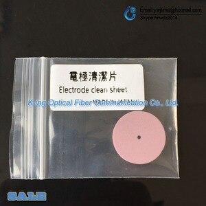 Image 5 - אופטי סיבי Fusion כבלר אלקטרודות נקי גיליון אלקטרודה ליטוש אלקטרודה ניקוי