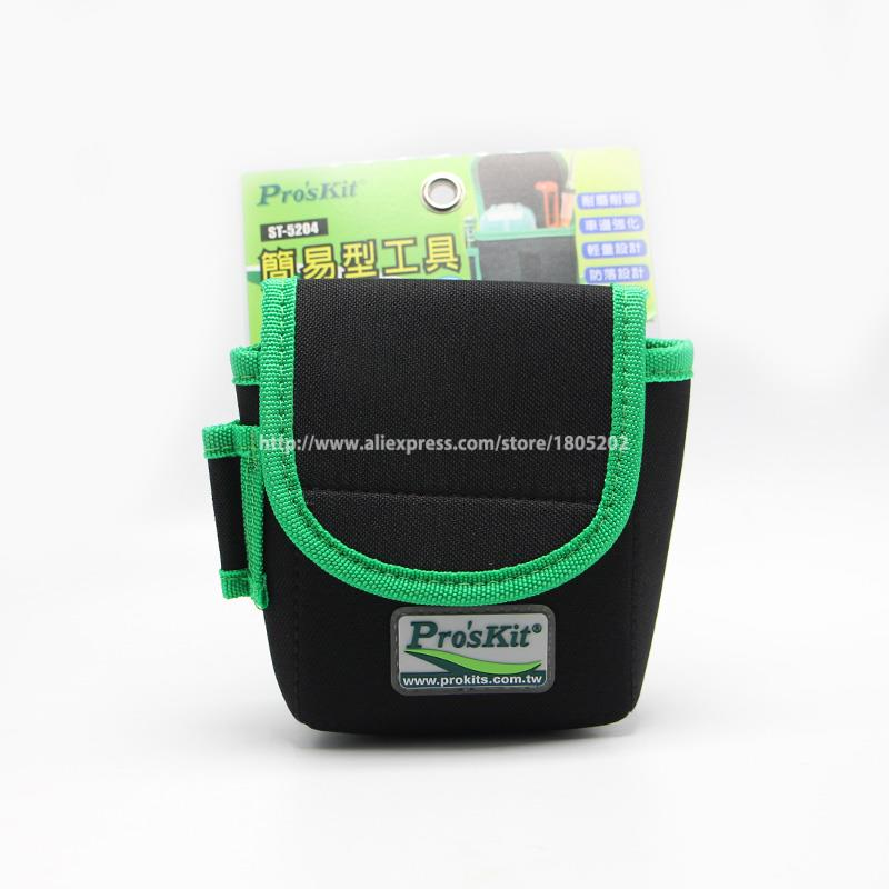St-5204 Workers Storage Pockets Easy To Carry Without Belt Small Size Tool Pouch Genuine Kit Bag Be Novel In Design