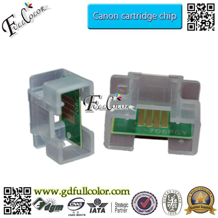 12-Farben-Set Kompatible 700-ml-Tintenpatrone PFI-706-Chip für - Büroelektronik - Foto 3