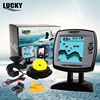 LUCKY Boat Fish Finder 2 In 1 Wired Wireless Fishfinder Echo Sounders 3 9 Inch LCD