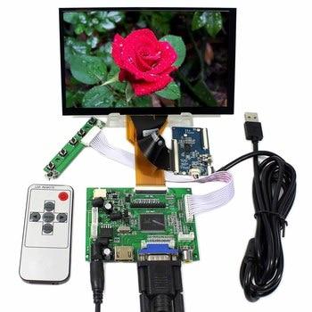 "7inch 800x480 LCD Screen  7"" AT070TN93 +Capacitive touch screen+ HDMI VGA AV ACC LCD Controller Board"