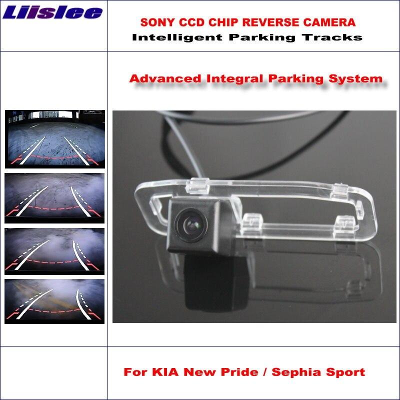 Liislee Intelligentized Реверсивный Камера для KIA Новый Гордость/Sephia Sport 2005 ~ 2011 заднего вида/динамический руководство треков