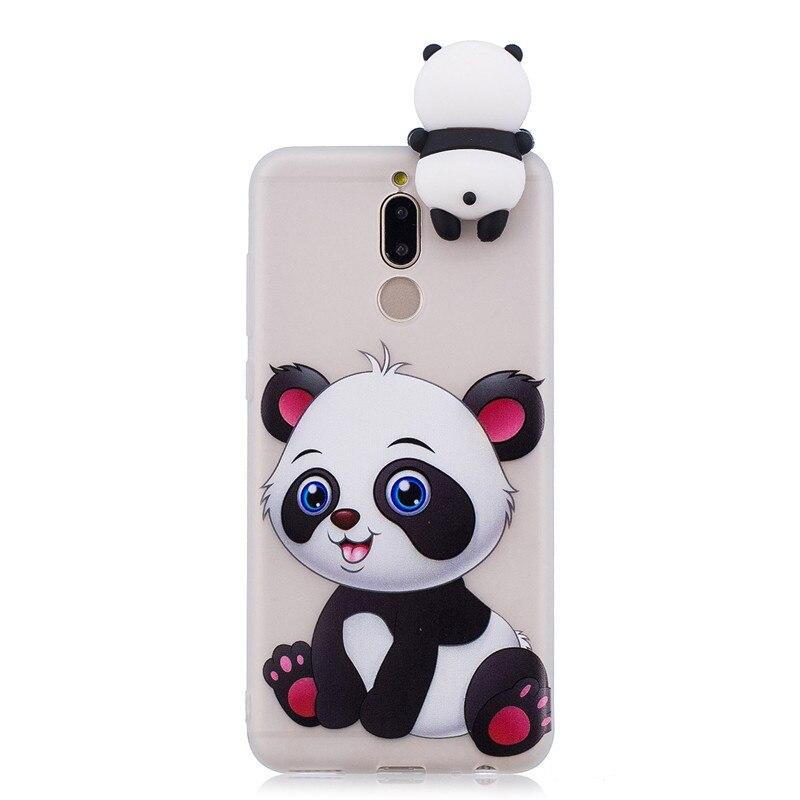 Phone Cases Fundas Huawei Mate 10 Lite Case Soft TPU Candy Color Cartoon Back Cover Huawei Honor 9I Maimang 6 Nova 2I Case
