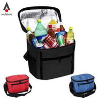 Portable Travel Camping Outdoor Picnic Necessity Kit Thermal Insulated Tote Lunch Bag Cool Bag Cooler Lunch