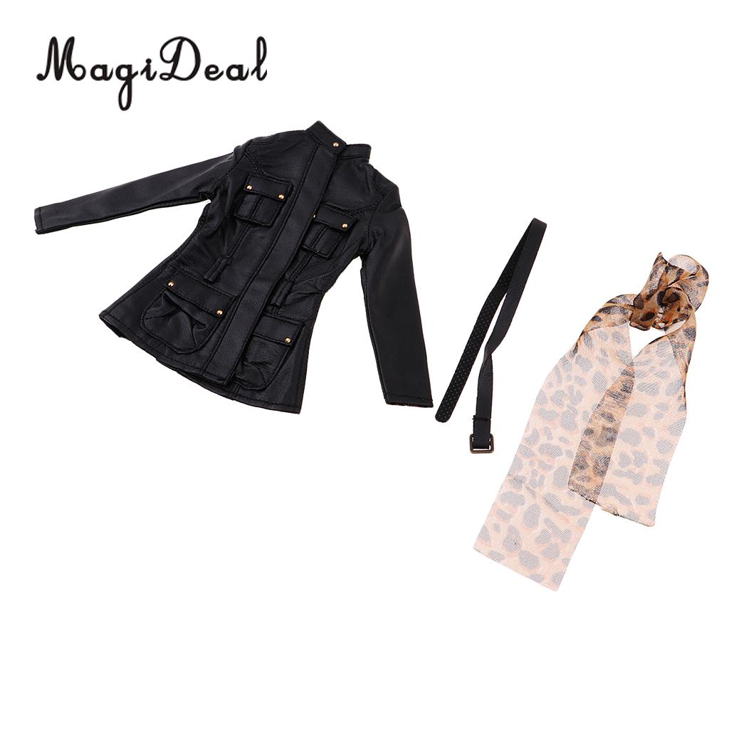 1:6 Women Clothing Jacket Pants Kit for 12/'/' Hot Toys Phicen Kumik CY Girls