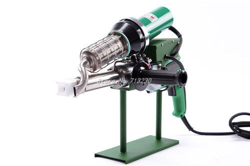 Новый практичный 3400 Вт ручной пластиковый Экструзионная сварка машина горячего воздуха пистолет для сварки пластмассы с японским мотором