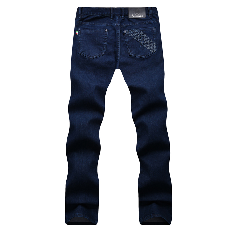 TACE&SHARK Billionaire jean men 2017 autumn new arrival fashion comfort high fabric geometry embroidery gentleman free-in Jeans from Men's Clothing    3