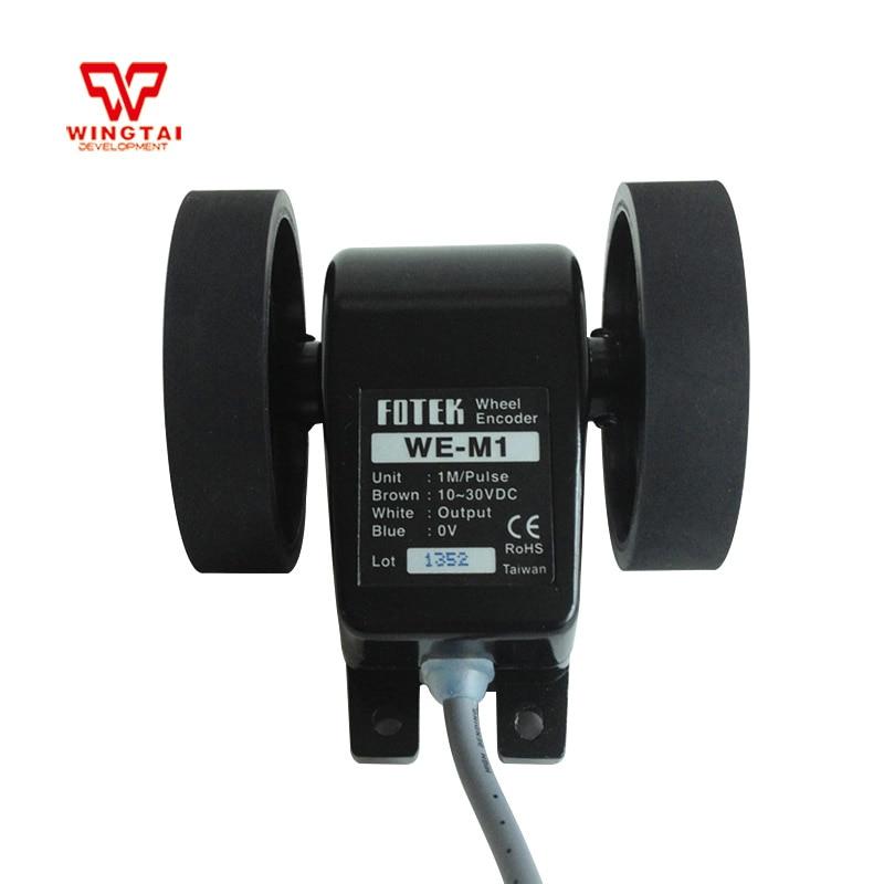 Taiwan Fotek WE-M1/WE-M2/WE-M3 Length Encoder With Wheel 10~30 VDC Fotek Counter taiwan original fotek  h5c 4d counter meter