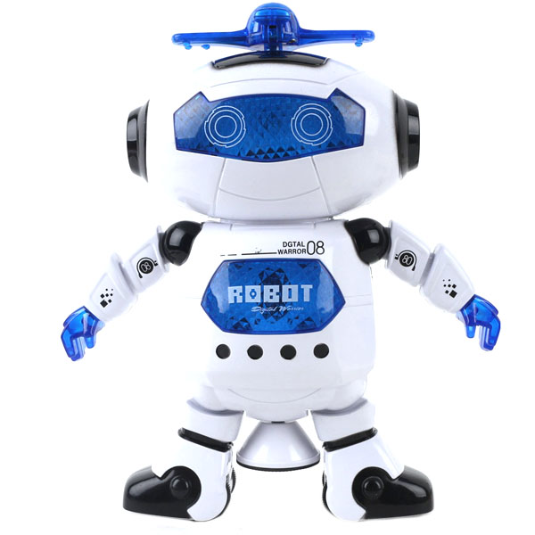 Amazing 360 Rotating Smart Space Dance Robot Electronic Walking Toys With Music Light For Kids Astronaut Toy Birthday Gift