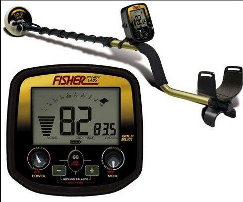 Hot US Fisher or Bug haute sensibilité détecteur d'or détecteur de métaux souterrain détecteur d'or