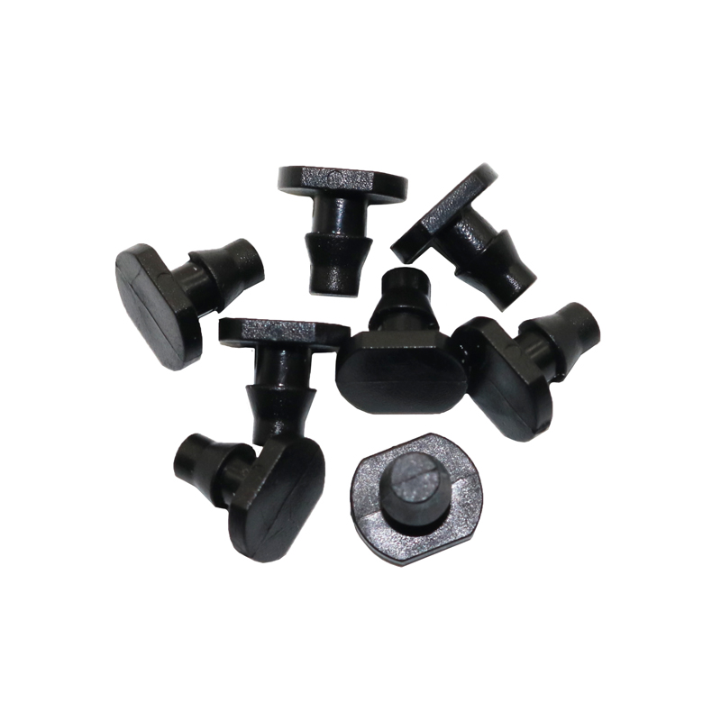 50pcs 4mm Irrigation End Plug Garden Irrigation System 1/4 In Hose Closure 4 / 7mm Plug Gardening Tool Accessories