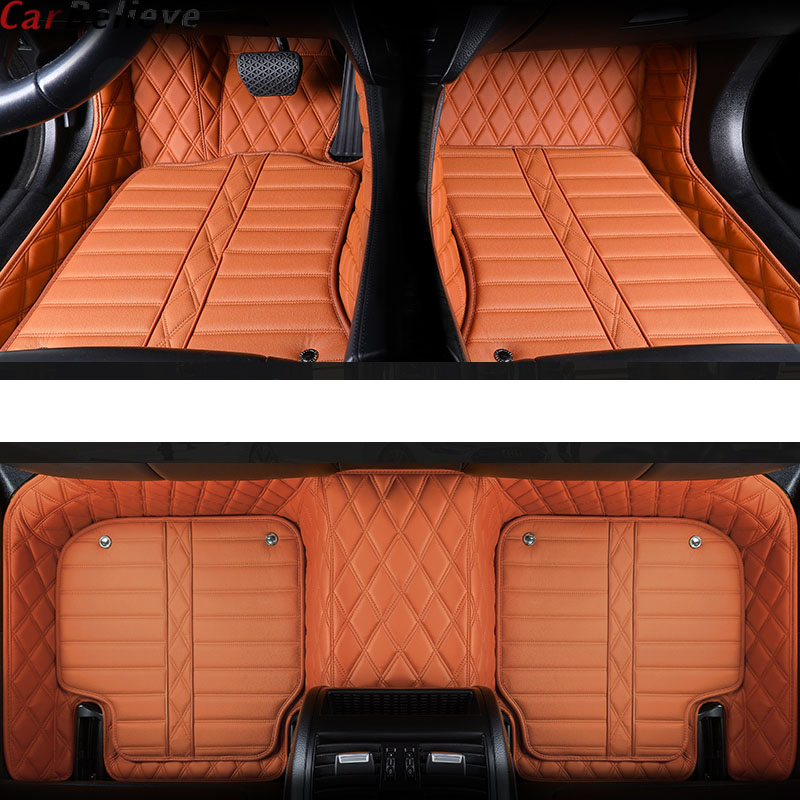 Car Believe Genuine Leather car floor mat For lexus gs nx gx470 ct200h rx lx570 is
