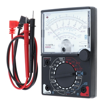 Portable YX- 360TRNB Mini Poin-ter Multimeter with Test Pen Tool for Measuring DC / AC Voltage and Current