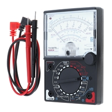 YX- 360TRNB Mini Portable Poin-ter Multimeter with Test Pen Tool for Measuring DC / AC Voltage and DC Curren