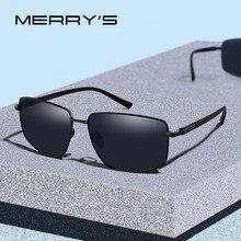 acd90372a MERRYS DESIGN Clássico Homens Marca de Luxo Óculos De Sol HD Polarized  óculos de Sol Para A Condução de Proteção Pernas UV400 TR.
