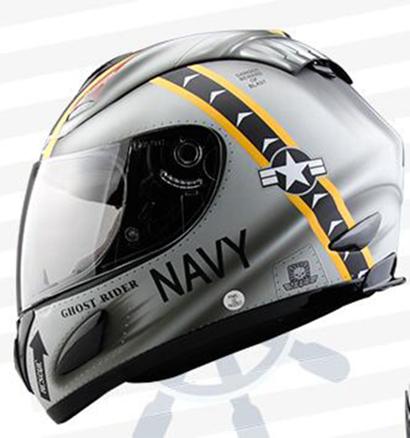 Navy Wolf Full Face Motorcycle Helmet Motor Cross Capacetes Casque Nenki Helmets 802