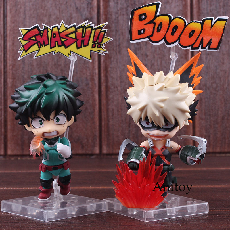 Figurine My Hero Academia Bakugou Katsuki & Midoriya Izuku Nendoroid 686 / 705 PVC Boku No Hero Academia Figure Collectible Toy все цены