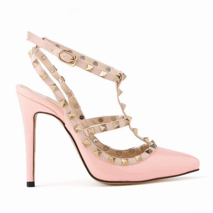 840dc7d901d3 Loslandifen Ladies High Heels Party Wedding Count Pump Shoes VD583 ...
