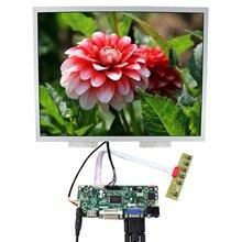 """15 """"LQ150X1LG96 15 pulgadas 1024x768 pantalla LCD (alta brightnes LCD) trabajo con HD MI VGA DVI Placa de controlador de Audio LCD M NT68676"""