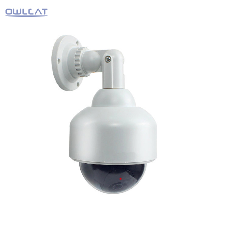 Security CCTV PTZ Speed Dome Case Fake Camera Battery Powered Indoor Outdoor Waterproof Bullet Dummy Camera Cctv Camera Housing