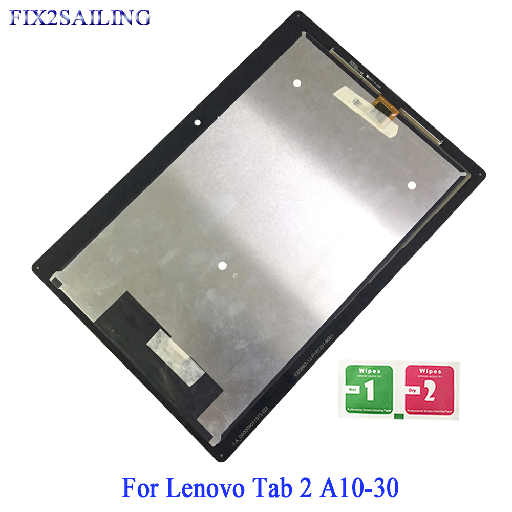 Trustful 10.1 Lcd Display For Lenovo Tab 2 A10-30 Yt3-x30 X30f Tb2-x30f Tb2-x30l Tb2-x30m A6500 Lcd Touch Screen Digitizer Assembly Pure And Mild Flavor Tablet Accessories Tablet Lcds & Panels