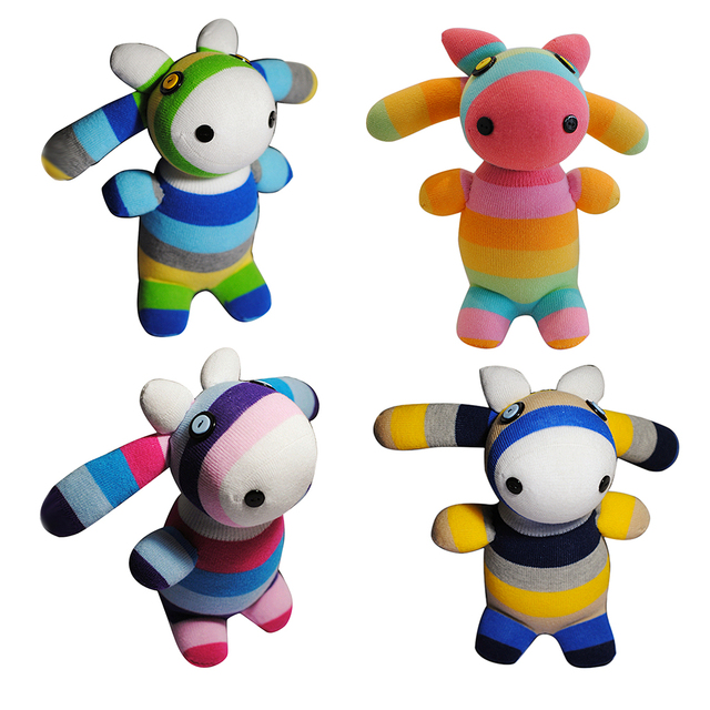 Diy Package Wool Felt Craft Needle Felting Animal Kit 3d Bull Doll