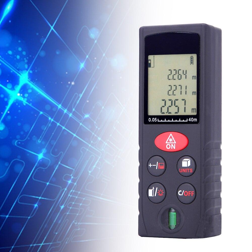 New Style 60m Handle Digital Laser Distance Meter Range Finder Measure Diastimeter Distance Meter цена