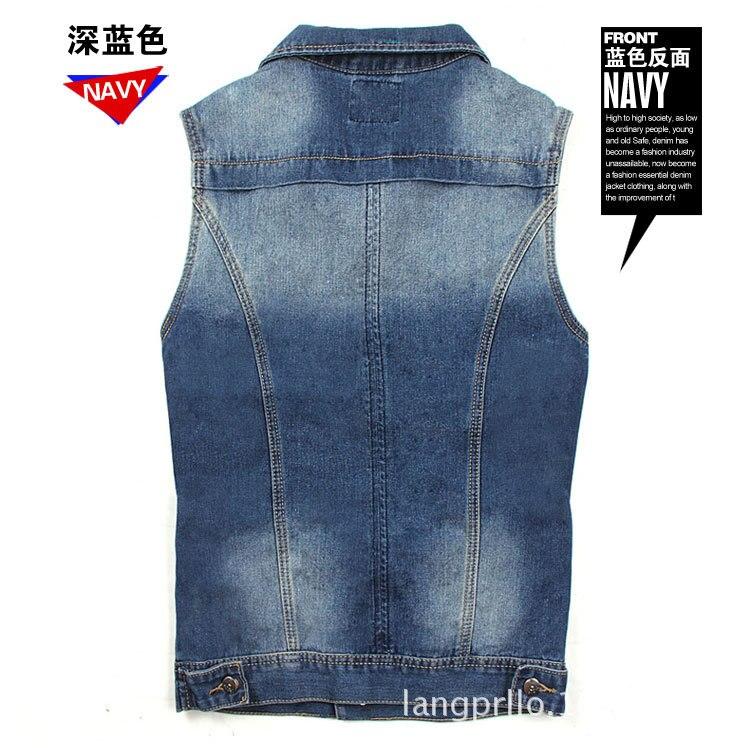 41ccff0a0e75d 2016 New Style New Men Denim Vest Men Jeans Men Sleeveless Denim ...