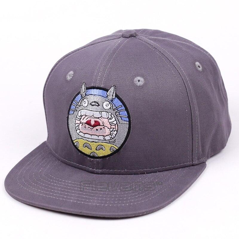 Cartoon Cute My Neighbor Totoro Snapback Cap Hat Baseball Caps Casual Summer Cotton Adjustable Hats