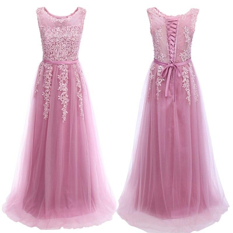 Kadın Giyim'ten Elbiseler'de Vintage Elbiseler Düğün Kadın Nakış Tül Elbise Yüksek Bel Pilili uzun elbise Nedime Kadınlar için Zarif Kadın Elbise'da  Grup 1