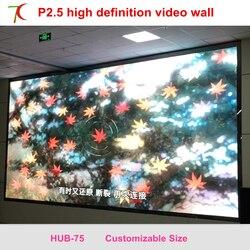 فعالة P2.5 داخلي كامل اللون أدى شاشة تستخدم ل led الفيديو الجدار في غرفة اجتماعات ، متعددة-الدراسية وسائط ، 160.000 نقاط