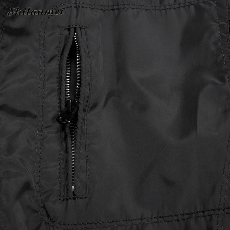 Plus 2017 Nouvelle Épaissir Haute 5xl Survêtement Hiver Veste Pour Hommes M Black khaki Taille Chaud Mince Décontractée Manteau Qualité La b76gYfy