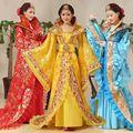 Luxo 5 Cor Princesa Vestido de Traje de Fadas Roupa Tang Terno Hanfu Traje Chinês Antigo Traje Tradicional Vestido