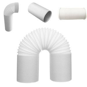 Image 5 - Flexible Durable Professional Intake Vent Parts Pipe White Universal Tube Exhaust Hose Steel Wire For Air Conditioner