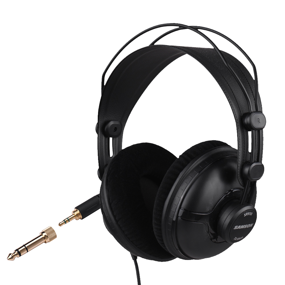 SAMSON SR950 Professional Studio Reference Monitor Headphones Dynamic Headset Closed Ear Design-in Electric Instrument Parts & Accessories from Sports & Entertainment    2