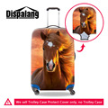 Acessórios Cavalo Animal Print Elástico Grosso Alongamento À Prova D' Água Bagagem de viagem Mala Trolley Caso de Proteção Para 18-30 Polegada