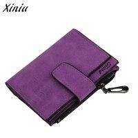 Xiniu 2017 Women Mini Grind Magic Bifold Leather Wallet Card Holder Wallet Purse Dropshipping