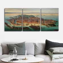Peculiar Landscape Wall Picture Poster Print Canvas Painting Calligraphy Decor for Living Room Bedroom Home Decor Frameless miss peregrine s home for peculiar children