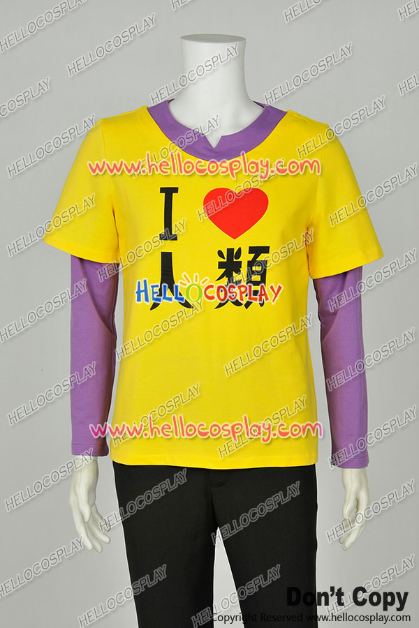 No Game No Life NGNL Noge Nora Cosplay Brother Sora Human T Shirt Costume H008