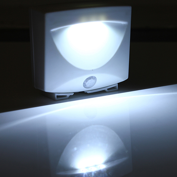 Mighty Light Led Motion Sensor Activated Night Light Indoor Outdoor Lamps In Emergency Lights
