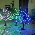 0.8 Medidor de 200 DIODOS EMISSORES de LUZ conduzida da árvore da flor de cereja artificial com luzes de natal barato e barato luzes led