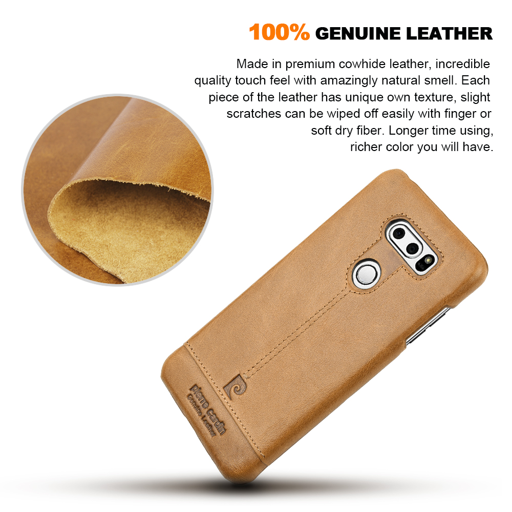 Original Pierre Cardin Genuine Leather Cases Luxury Brand Back Case Goospery Lg G7 Thinq Plus Style Lux Jelly Blue For V30 Ultra Thin Hard Cover Coque In Fitted From Cellphones