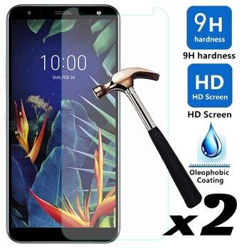 Перейти на Алиэкспресс и купить Для LG K40/LG Stylo 5 2 шт./партия Закаленное стекло протектор экрана Взрывозащищенные против царапин передние пленки