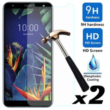 For LG K40/LG Stylo 5 2pcs/lot Tempered Glass Screen Protector Explosion-proof Anti Scratch Front Films