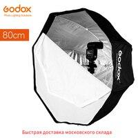 Godox 80Cm 31.5In Portable Octagonal Softbox Flash Speedlight Speedlite Umbrella Softbox Brolly Reflector Softbox Only