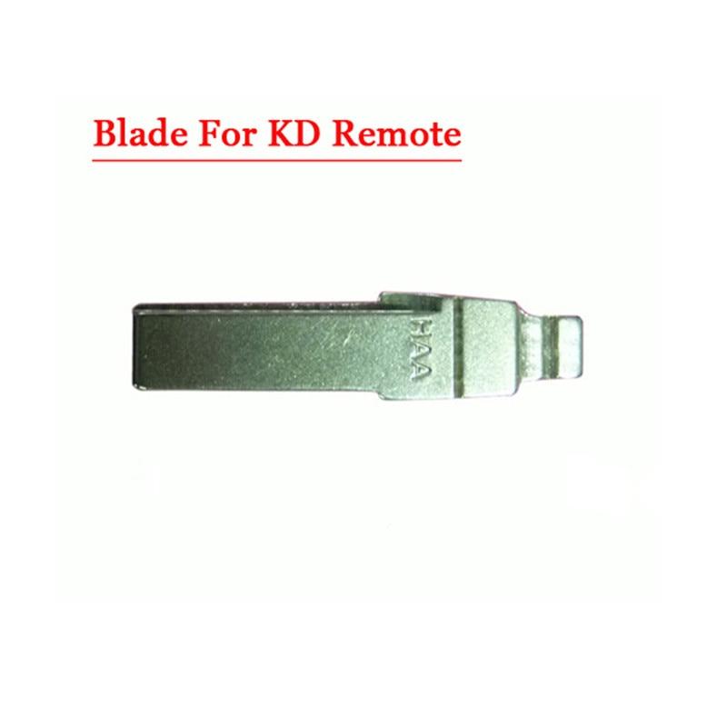 Free shipping (10 pcs/lot)Metal Blank Uncut Flip KD Remote Key Blade Type Hu66 blade free 1pcs er11 chuck dc 12 48 cnc 300w spindle motor mount bracket 24v 36v for pcb engraving